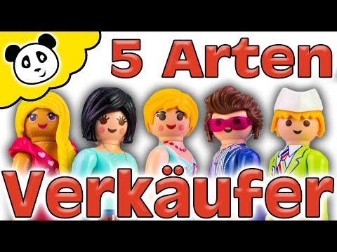 Playmobil Film - 5 Arten von Verkäufern - Pandido TV