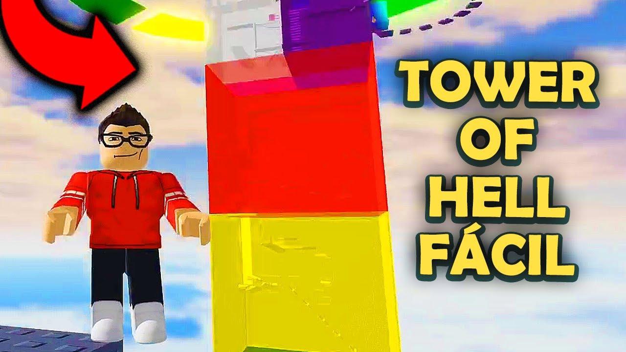 ESSA TORRE DIZ SER FÁCIL! SERÁ? - Roblox Tower of Hell Easy