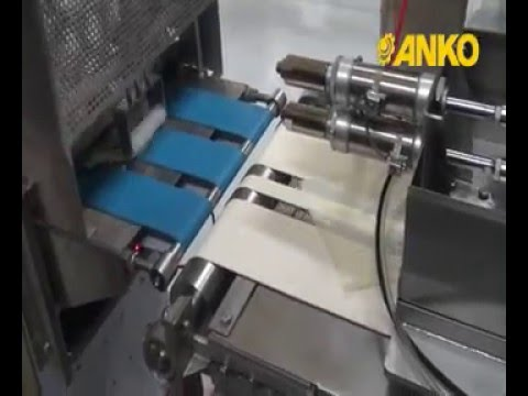 Cheese Roll Making Machine - Patented pastry turning device and depositor