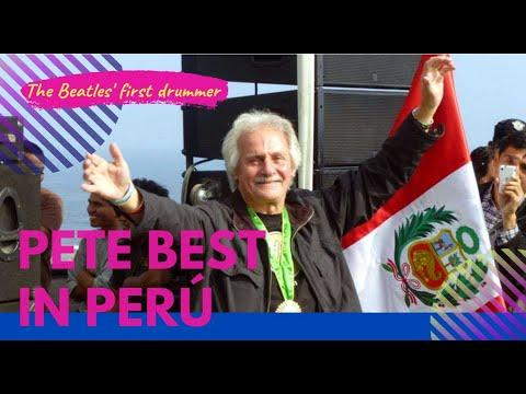 Pete Best en Lima, Junio 2013