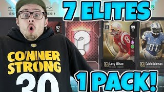 CRAZY PACK LUCK WITH 3 INSANE PULLS FOR OUR TEAM!! Madden 18 Packed Out
