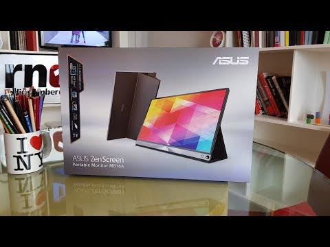 Смотреть Unboxing and testing the ASUS ZenScreen MB16A 15.6