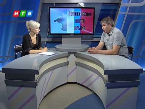 Политическая карта Крыма от 18 августа 2014
