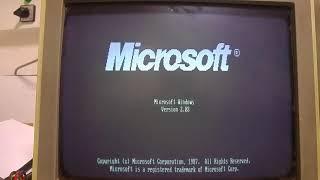 Windows2 (1987) PC XT HERCULES