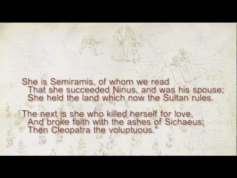 Dante Inferno: Canto 5 the story of Francesca da Rimini