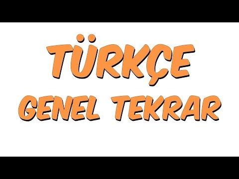 Türkçe Genel Tekrar