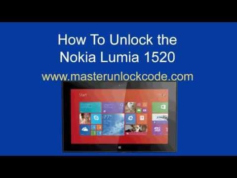 How to Unlock Nokia Lumia 2520