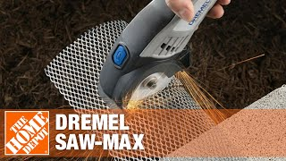 The Dremel Saw-Max reinvents cutting as you know it. Powerful enoug...