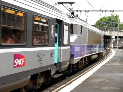 Sncf ter midi pyr n es tract par une bb7200 en voyage for Ter toulouse