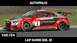 Gran Turismo Sport - Daily Race Lap Guide - Autopolis - Audi TT Cup Gr. 4