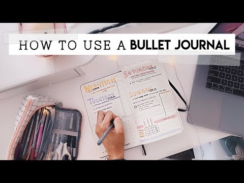 How To Design Your Life    Bullet Journal Basics