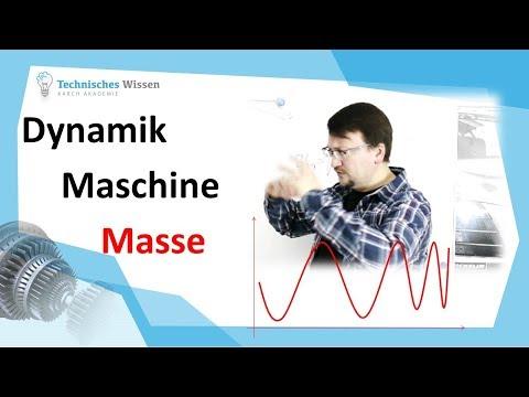 Dynamik der Maschine – Masse verändert die Schwingung