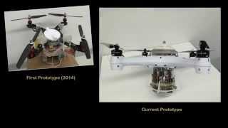 Loon Copter - First Aerial/Underwater Quadrotor (Multirotor) Subrmarine Drone Demo