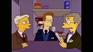 Simpsons – Homer Simpson beim Bewerbungsgespräch / Vorstellungsgespräch / Job Interview