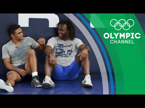 The Wrestling Mates and Mentors   Gold Medal Entourage