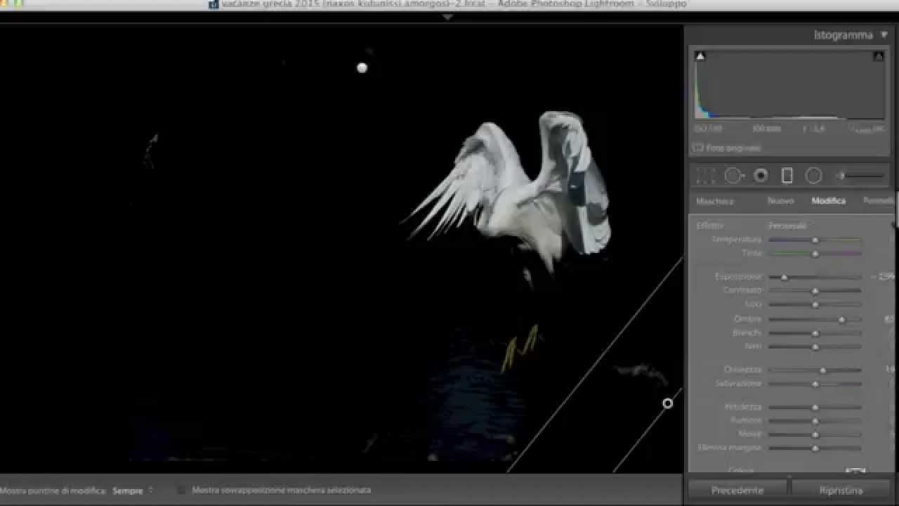 Come realizzare foto con sfondo nero
