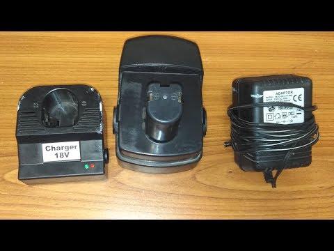 Преределка 18 вольтового зарядного устройства шуруповерта DORKEL
