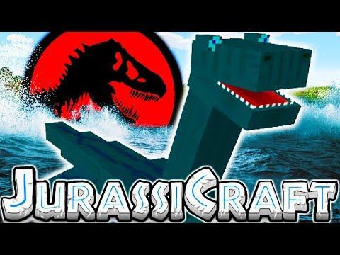 THE LOCH NESS  MONSTER IS REAL - MODDED MINECRAFT DINOS JURASSIC PARK #12