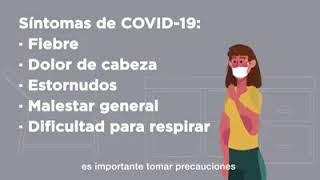 Recomendaciones para evitar contagio laboral de COVID-19