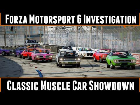 Forza 6 Investigation Classic Muscle Car Showdown