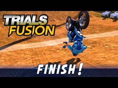 TRIALS FUSION - Try to beat this! |