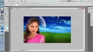second tutorial of photoshop in gujarati