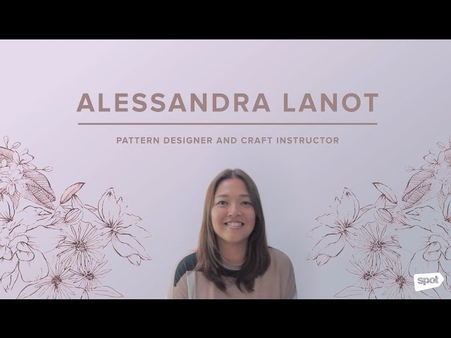 Botanical Watercolor Basics with Alessandra Lanot