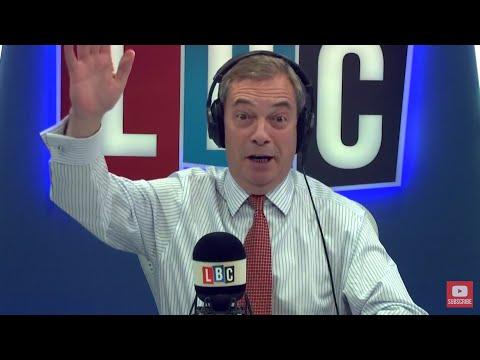 The Nigel Farage Show: Nigel Farage meets Barnier on Monday got any questions? LBC - 4th Jan 2018