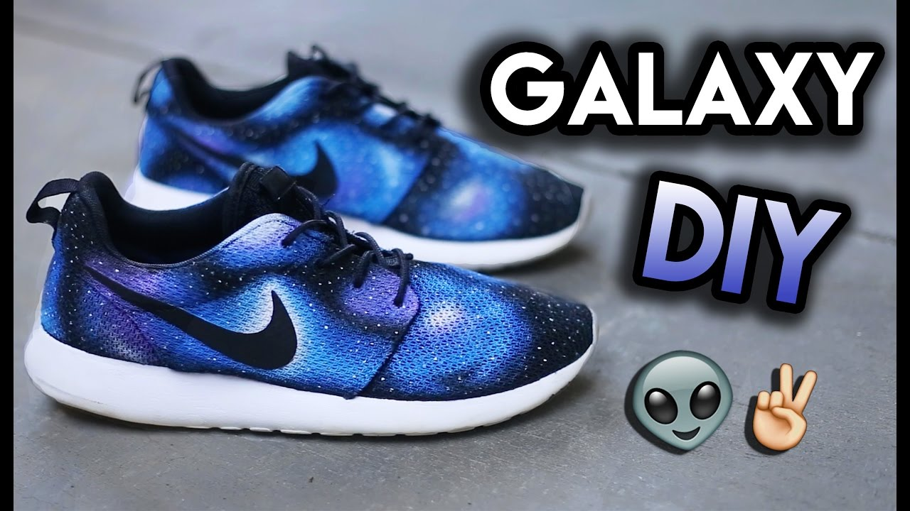 ccaebcc6a50d How To  Galaxy Your Shoes (No Airbrush)
