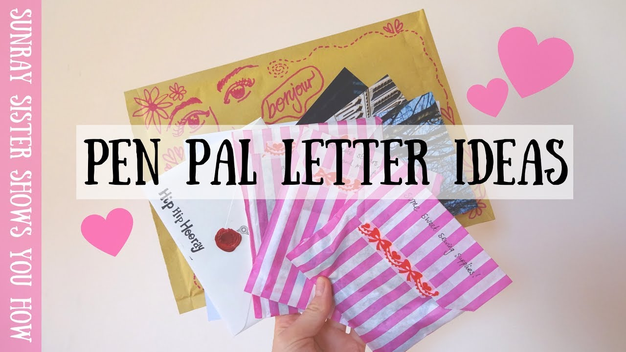 Cute Letter Ideas cute letter ideas