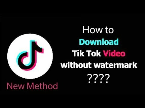 How To Download TikTok Videos Without Logo