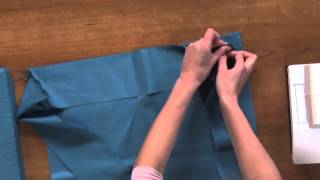 How To Sew A Pillow & Sewing Perfect Corners  |  National Sewing Circle