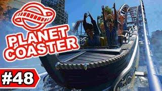 Jetzt doch eine Wasserachterbahn | Planet Coaster Let's Play #48
