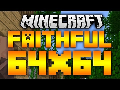Minecraft - Faithful 64x64 Resource Pack 1.9/1.8.9 (Review/Download)