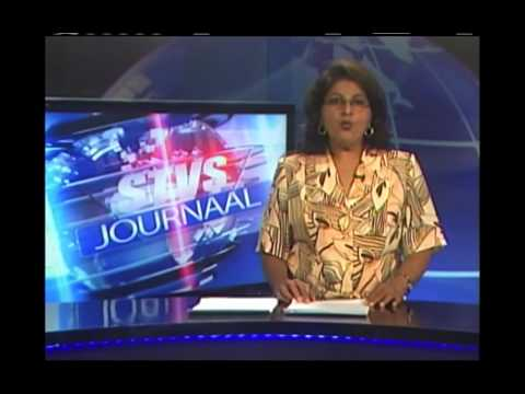 R Mitchell STVS Jrnl 20nov14 Suriname TV News