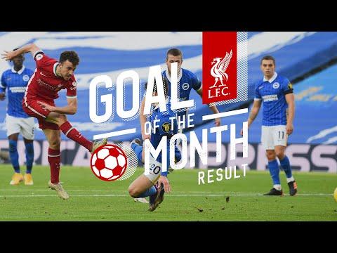 Objetivo mensual del Liverpool FC: noviembre |  Sala, Jota, Babajit