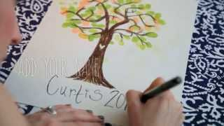 How To Make Family Tree Wall Art With Kids