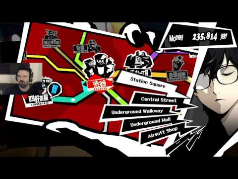 Persona 5 playthrough pt254 - Bad News For Takemi/Some Shopping