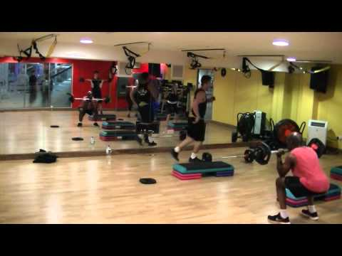 Les Mills Grit Strength V8 (Submission Video) Dexter Wright Bankside Health Club