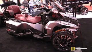 2015 Can-am Spyder RT - Walkaround - 2015 Toronto Motorcycle Show