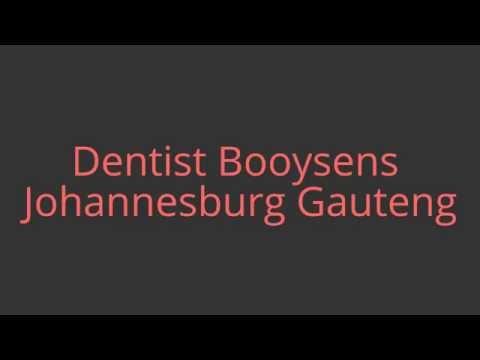 Dentist Booysens Johannesburg Gauteng