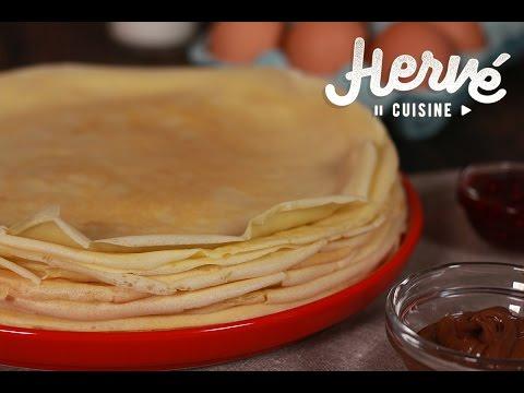 Pâte à crêpes, la recette inratable d'Hervé Cuisine