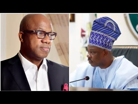 IT IS FINALLY OVER! OGUN GOVERNOR-ELECT DAPO ABIODUN FIRES AMOSUN, ALSO MOCKS HIM AT LAST