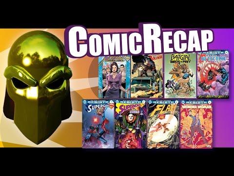Comic Recap October 12th 2016