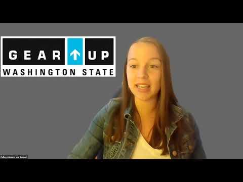 Washington GEAR UP Virtual Visits - Spokane Community College