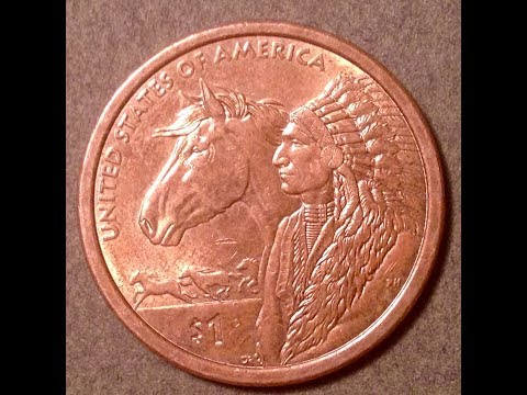 Hard To Find Dollar Coins: 2012 Sacagawea / Native American