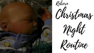 Reborn Night Routine l Christmas Eve l Reborn Life