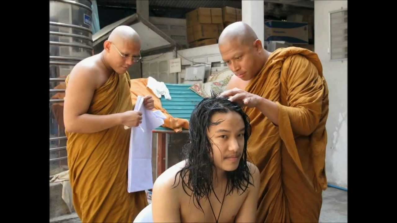 Why did monks have shaved heads