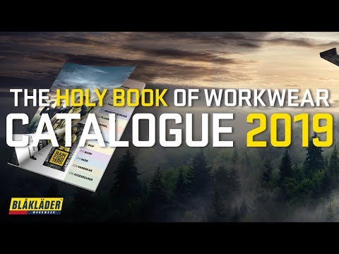 Omtalade THE CATALOGUE 2019 IS OUT NOW! | Blåkläder Workwear - YouTube LT-85