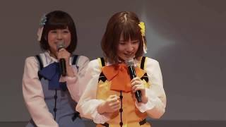 村川梨衣のまねをする内田真礼 Rabbit House Tea Party 2016 韓国の声優...